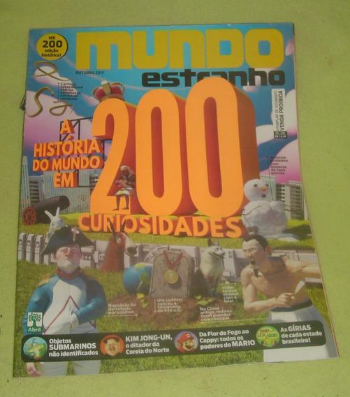 Revista Mundo Estranho 200 Curiosidades - Frete Grátis