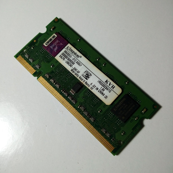 Memoria Ram 1gb Ddr2 533 Mhz Sodimm Kingston Notebook