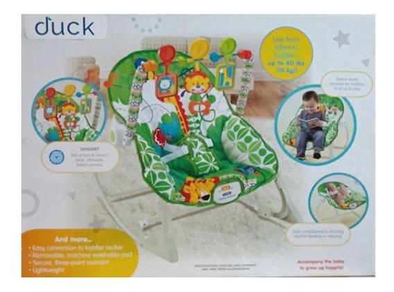 Duck Baby Mecedora C/vibrador Verde 100116