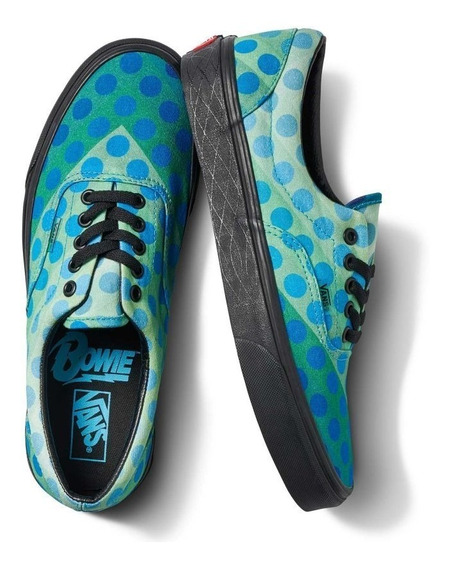 Tenis Vans X David Bowie Era Space Oddity Edicion Coleccion