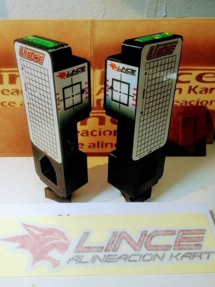 Alineadoras Láser Lince Karting Mariposa (2 Modulos)