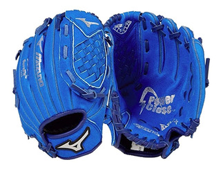 Guante Beisbol Infantil Mizuno Prospect Piel Azul Rey 9.5 In