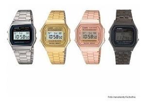 Relógio Casio Retro Vintage Unissex Diversas Cores