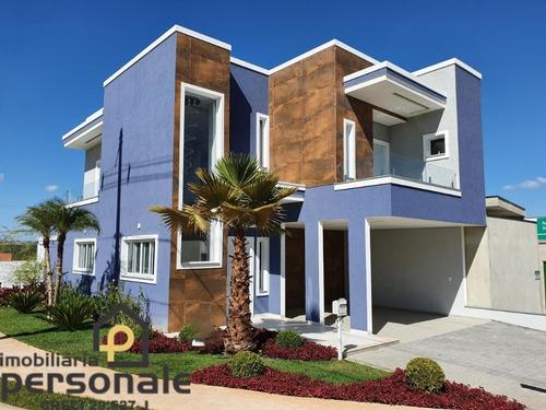Casa Em Condomínio Em Sorocaba, Terras De São Francisco - Ca00407 - 67856439