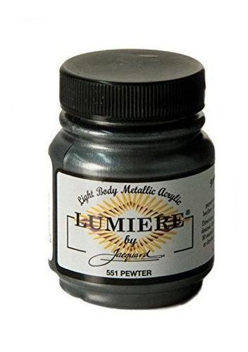 Imagen 1 de 2 de Productos Jacquard Pintura Para Tela Lumiere 2 Oz. Tarro: Pe