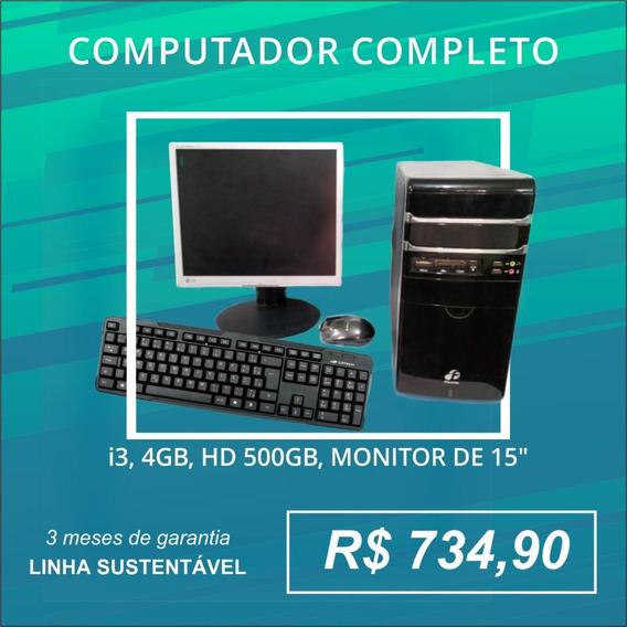 Computador Completo - Linha Sustentável