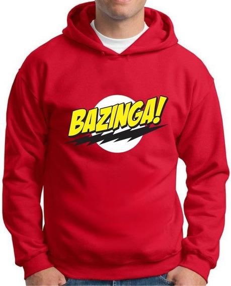 Moletom Bazinga The Big Bang Theory - Tamanhos Especiais