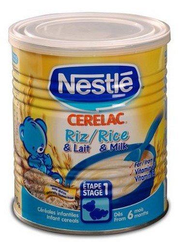 Imagen 1 de 1 de Arroz Nestlé Cerelac 400g Europa