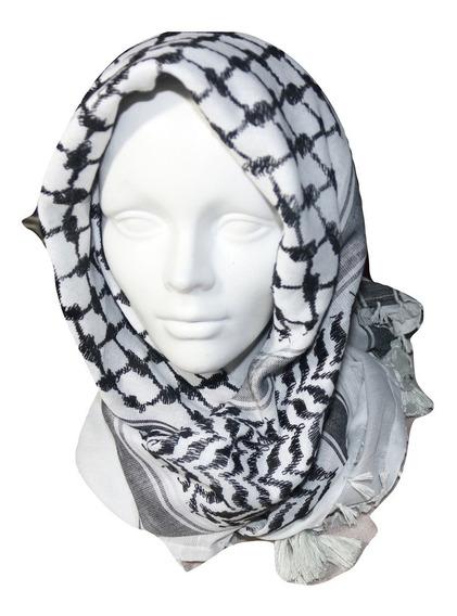 10 X Palestinas Shemagh Arabia Militar Bufandas Original
