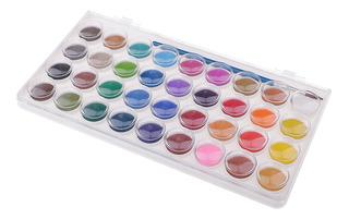 Set De Pinturas De Acuarela Con Pincel 36 Color Artista