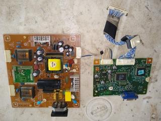 Tarjeta De Monitor Samsung 740n + Fuente
