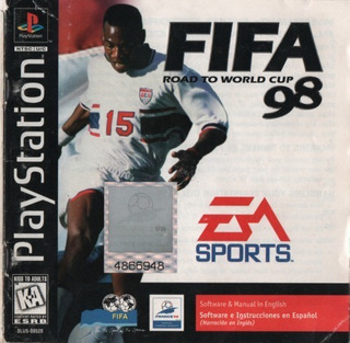 Playstation Fifa 98