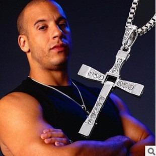 Corrente Colar Dourado/prateado Cordão Masculino Crucifixo