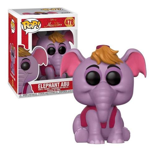 Imagen 1 de 1 de Elefante Abu Aladdin - Funko Pop Original