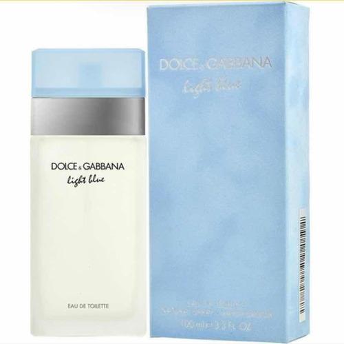 Perfume Light Blue De Dama, 100 Por Ciento Original.