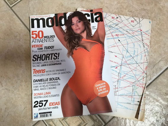 Revista Molde E Cia 51 Danielle Souza Sonia Lima Shorts H250