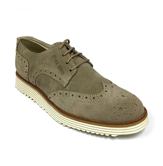 Zapatos Casuales Full Time Caballero Arena Ft 2801 Corpez 66