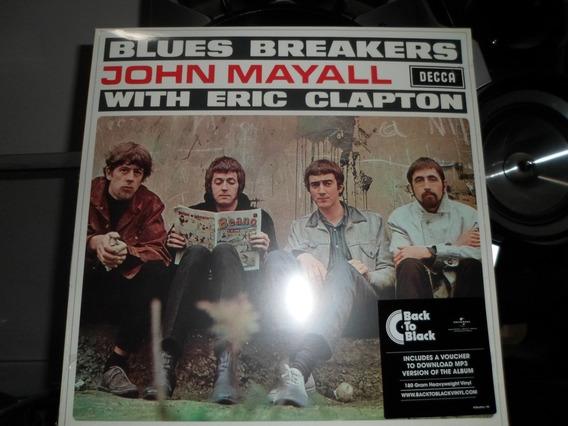 Lp Blues Breakers John Mayall Eric Clapton 180g - Lacrado !!