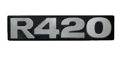 Emblema Letreiro R420 Scania 114 124 Serie 4 Serie 5