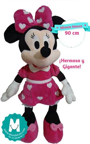 Imagen 1 de 1 de Peluche Minnie Mouse 90 Cm Mundocute Regalo