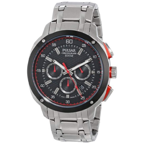 Pulsar Men X26 39 S Reloj De Plata Cuarzo