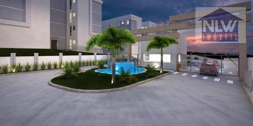 Apartamento Com 2 Dormitórios À Venda, 39 M² Por R$ 172.490,00 - Vila Nova Aliança - Jacareí/sp - Ap2472