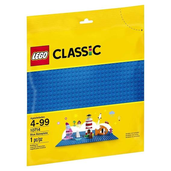 10714 - Lego Classic - Placa Base Azul Lego