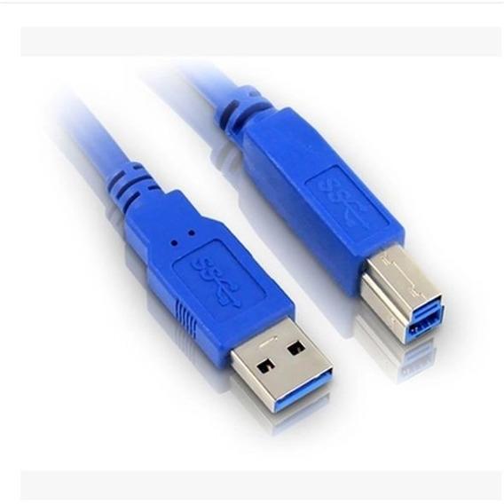 Cable Usb 3.0 5gbps A Macho A Tipo B Impresoras Impormel