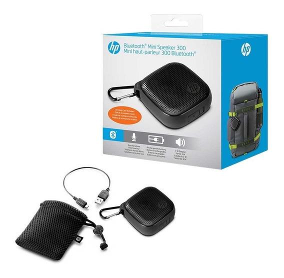 Caixa De Som Bluetooth Portátil 3 Watts Rms Mobile Hp S300