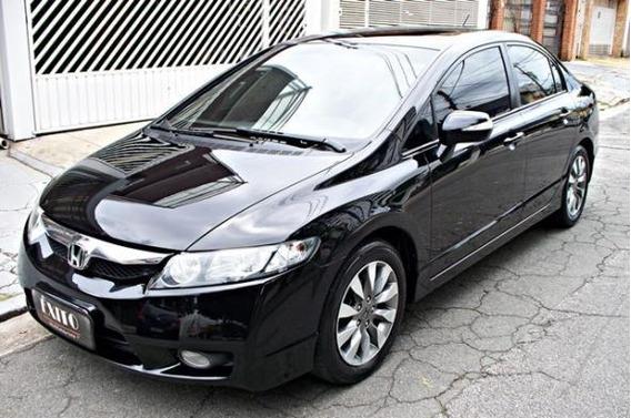 Honda Civic Sed Lxl Se Automatico 2011 Preto
