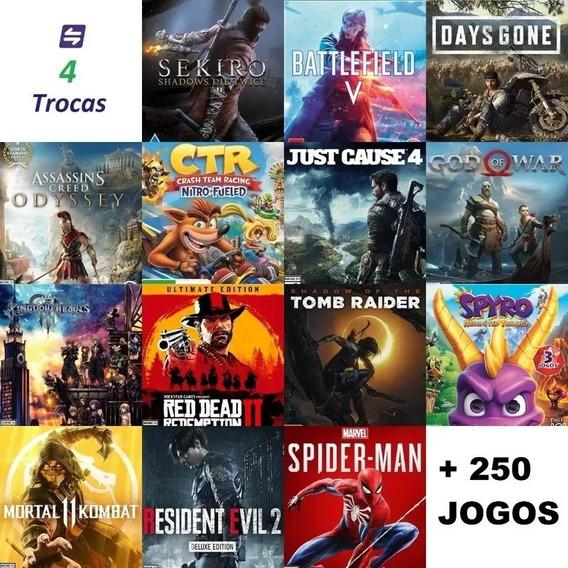 300 Jogos Playstation 4 Ps4 Você Escolhe Leia Descriçao