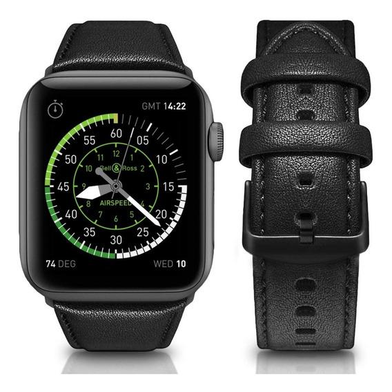 Correa Extensible Apple Watch 40mm Y 38mm Mumba Piel Origina