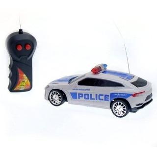 Auto De Policía A Radio Control Remoto 1:24 Original Niños