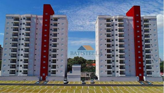 Apartamento Com 2 Dormitórios Para Alugar, 58 M² Por R$ 1.000/mês - Chácara Antonieta - Limeira/sp - Ap0511