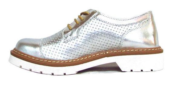 Zapatos Mujer Acordonados Charol Dama Moda 2020 Art Doc-8