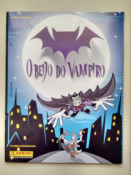 Álbum De Figurinhas Para Preencher O Beijo Do Vampiro B138