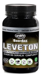 Leveton Levedo De Cerveja Complexo B Unilife Bodyage (600 C)