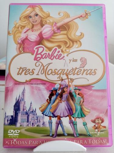 Barbie Las Tres Mosqueteras Pelicula Dvd Mercado Libre