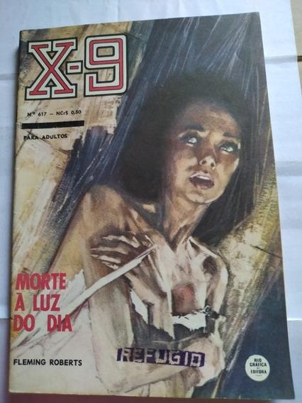 Livro X-9 N° 617 - Frete Grátis