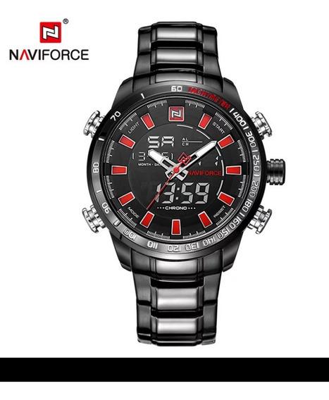 Relógio De Pulso Masculino Importado - Navi Force 9993