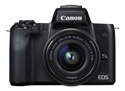 Combo Canon M50 C/ Adaptador + Gaiola + Tophandle + Filtro