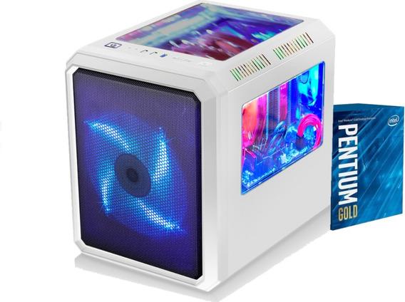 Cpu Microcraft Pentium G5400 H310m 2x 4gb Ssd 120gb 400w Cnf