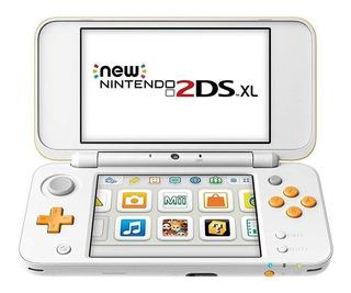Nintendo New 2DS XL Standard blanco/naranja