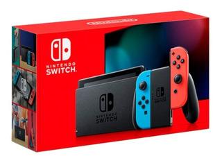 !! Paquete De Nintendo Switch Con Accesorios Y Juegos!!!