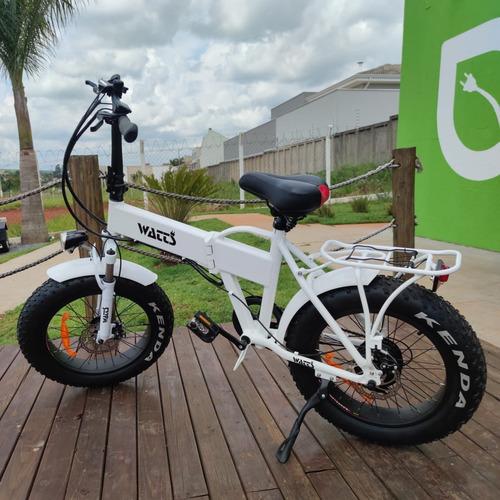 Bicicleta Elétrica 250w C/ Câmbio Shimano Watts