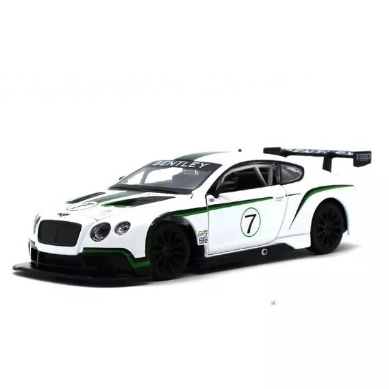 Carro Miniatura Bentley Continental Luz E Som 1/24 - 68262a