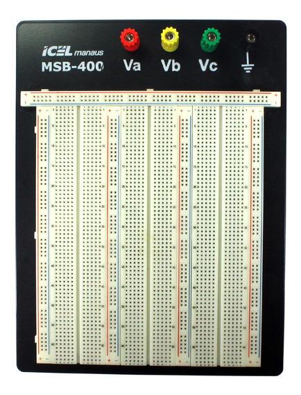 Protoboard 2420 Furos Icel Msb-400