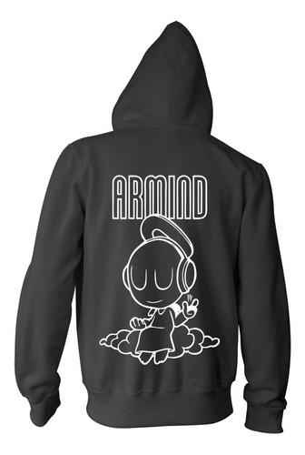 Imagen 1 de 2 de Campera Armin Van Buuren  Armind Logo