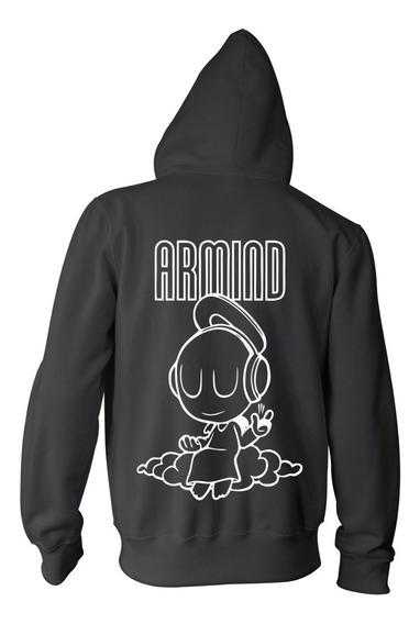 Campera Armin Van Buuren Armind Logo Color Animal