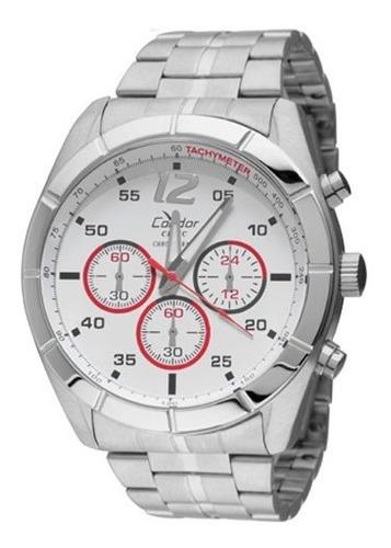 Relógio Condor Masculino Ky20394/3b Prata